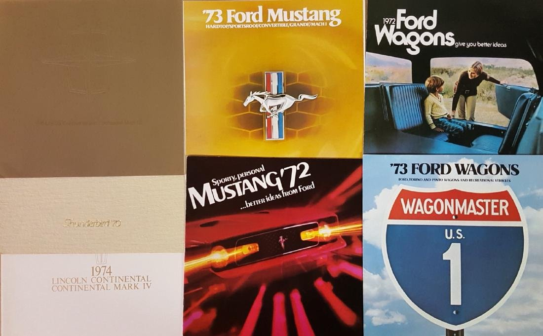 1950'-1970's Ford products brochures - 2
