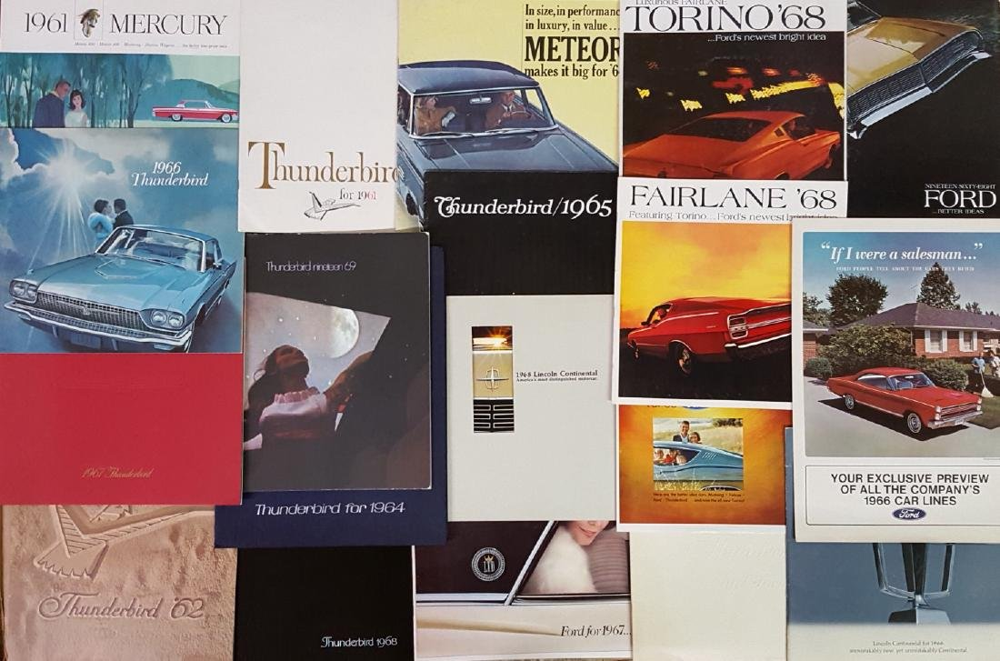 1950'-1970's Ford products brochures - 3