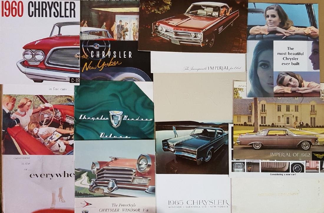 1950's-1960's Chrysler products brochures - 3