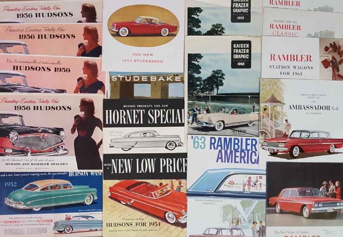 1940's-1960's independent brochures