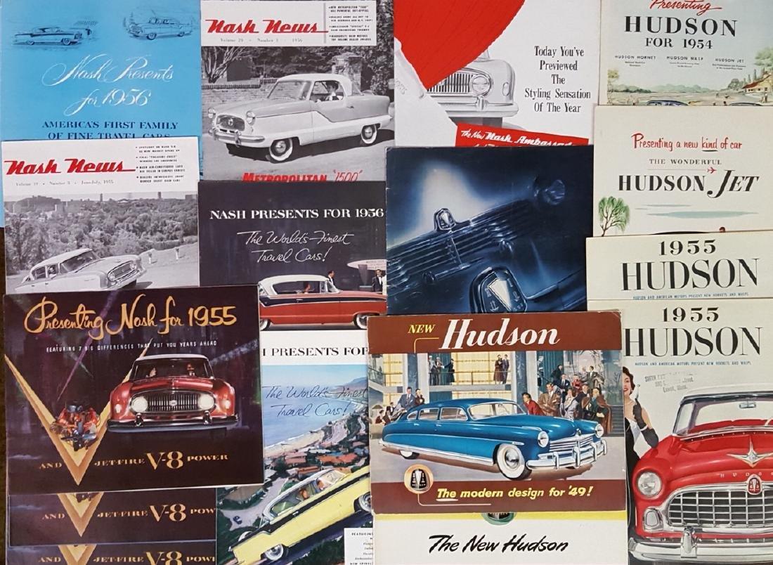 1940's-1960's independent brochures - 2