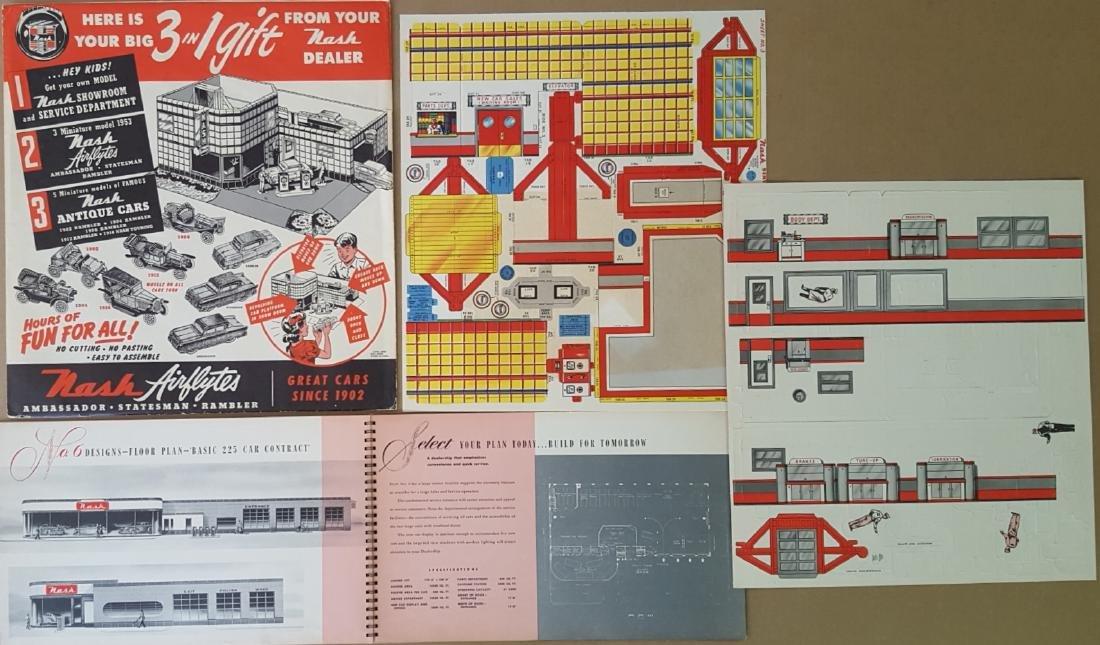 1930's-1940's Nash, Graham brochures - 2