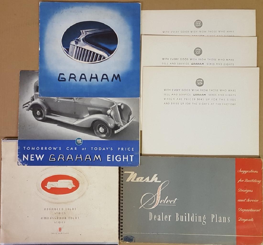 1930's-1940's Nash, Graham brochures - 3