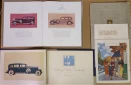 Three Cadillac Fleetwood items