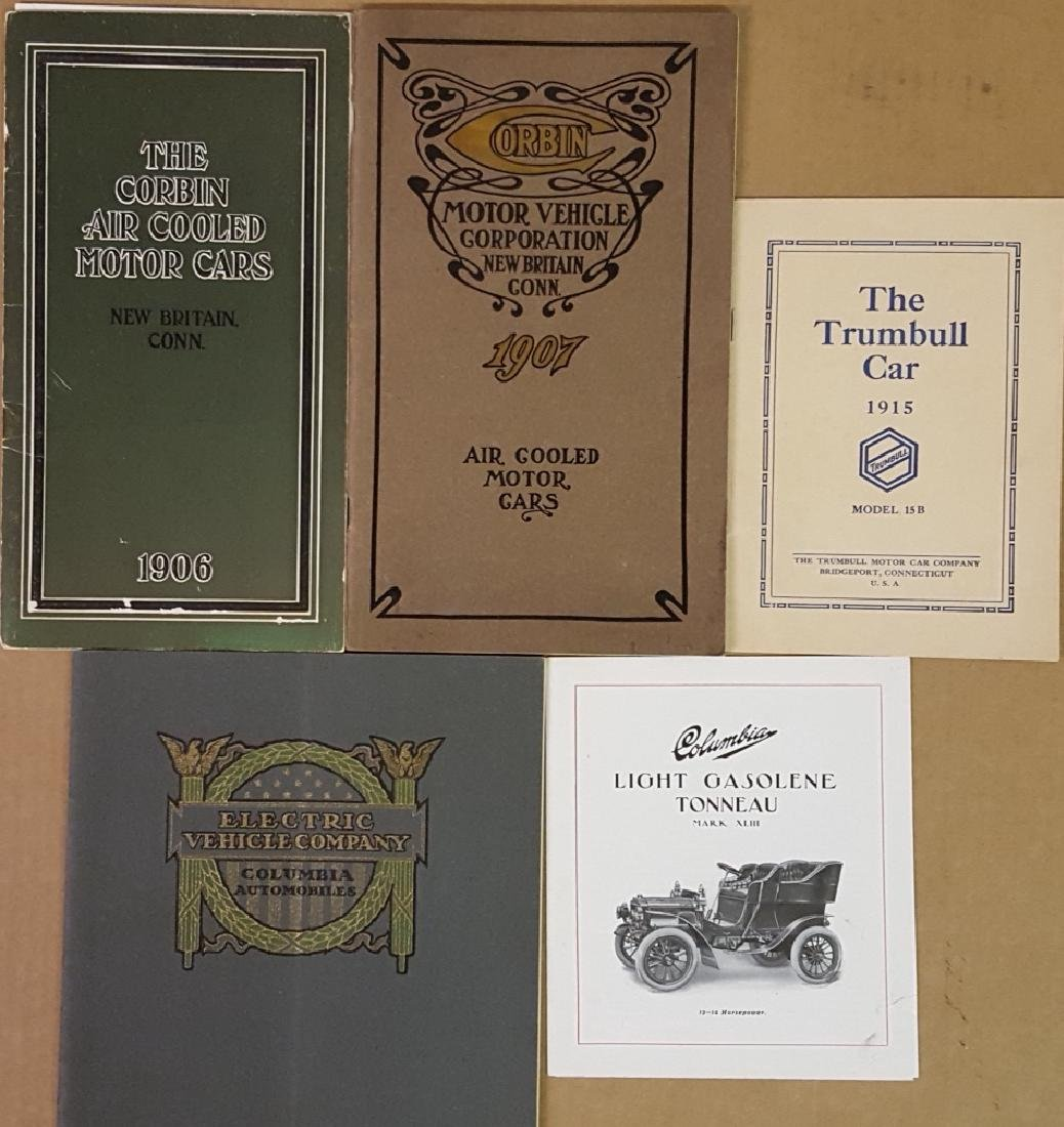 Early CT mfg auto catalogs
