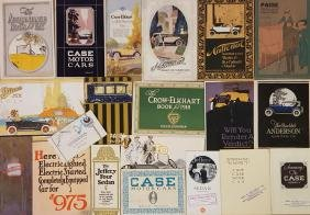 Teens-1920's misc brochures