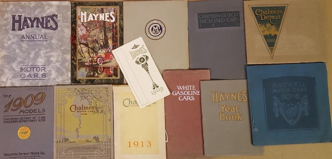 Brass era brochures