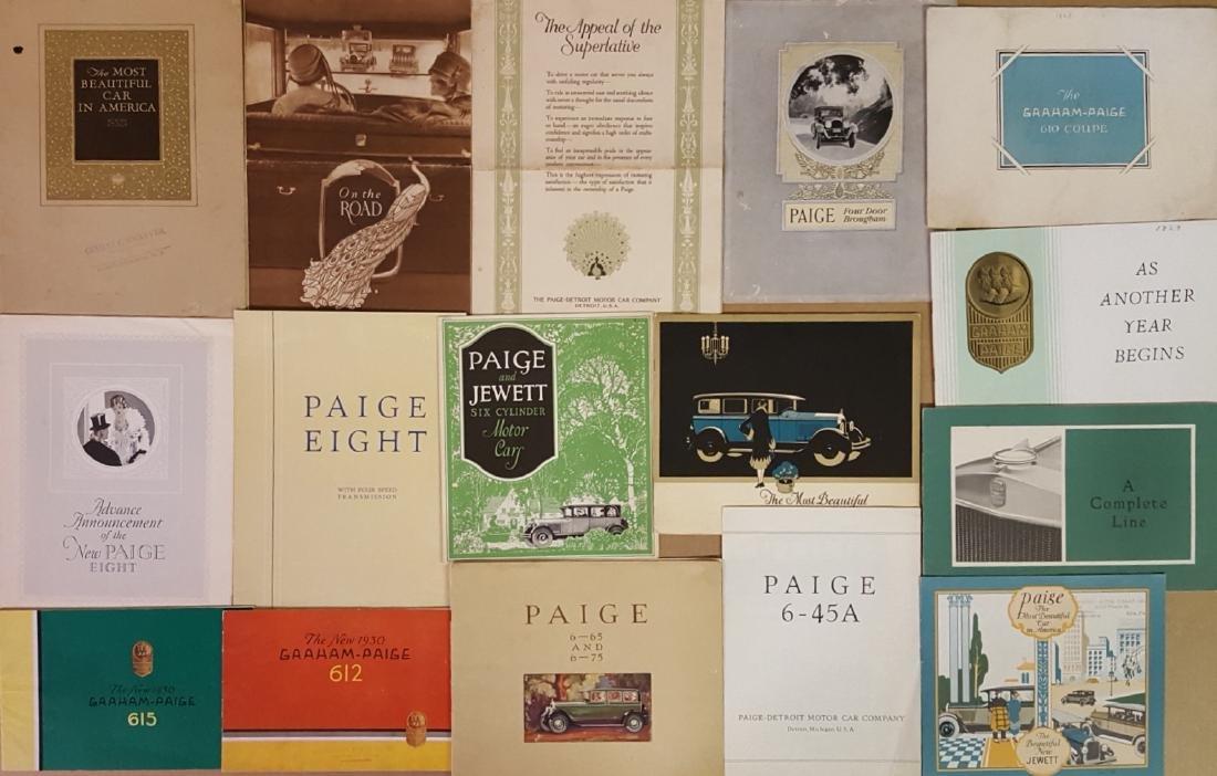 Jewett, Paige, Graham Paige Allen brochures - 3