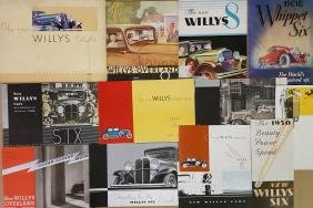 Willys Knight, Overland, Willys brochures