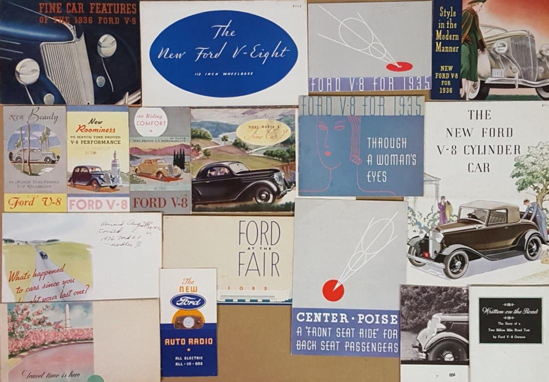 1932-1936 Ford car and truck brochures - 2