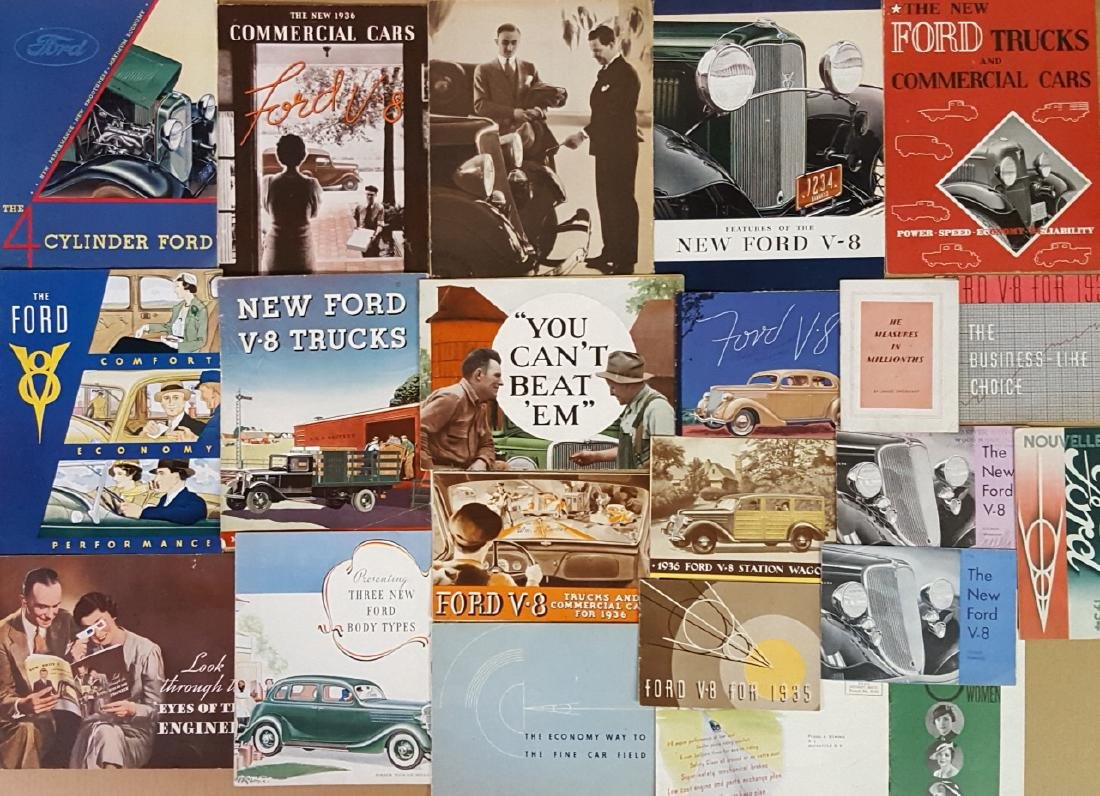 1932-1936 Ford car and truck brochures - 3