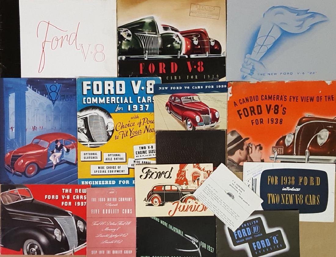 1937-1939 Ford and Mercury brochures - 2