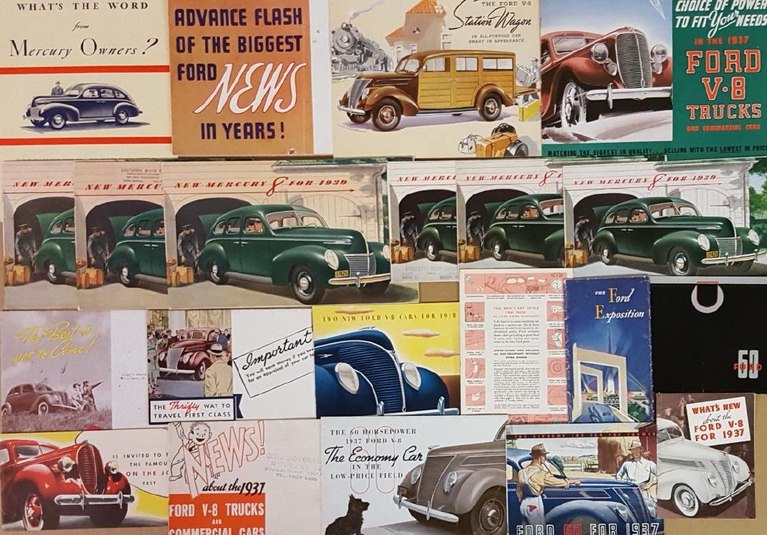 1937-1939 Ford and Mercury brochures - 3