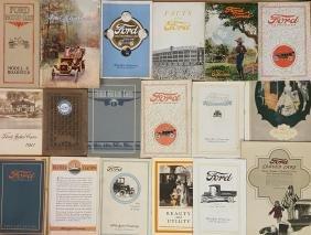 Ford Model T brochures