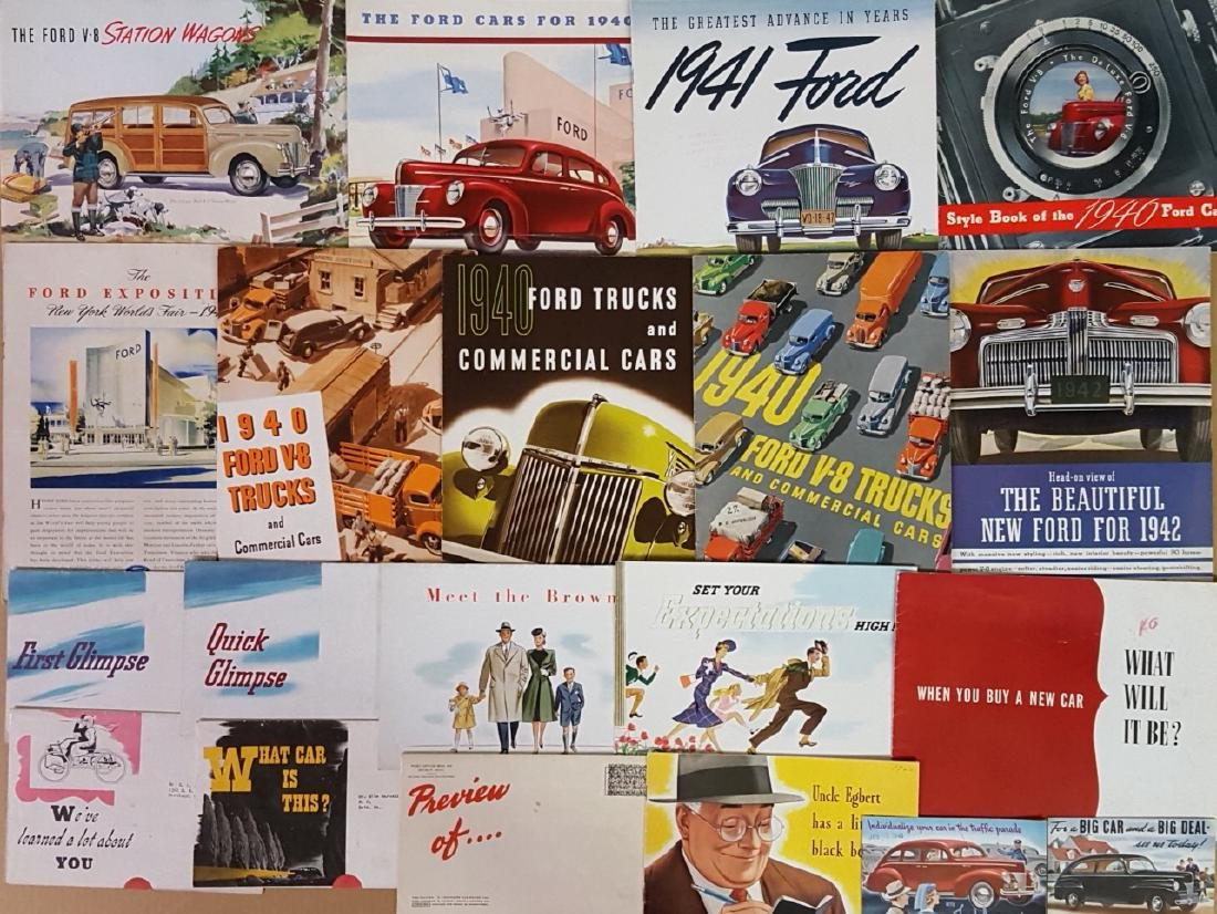 1940-1942 Ford and Mercury brochures - 3