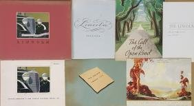 1933-1935 Lincoln brochures