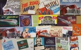 1940's Chevrolet and Pontiac brochures