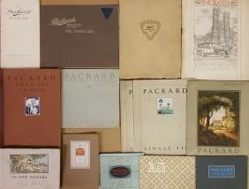 1906 - mid 1920's Packard brochures