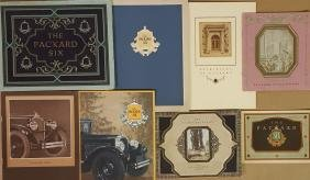 1925-1928 Packard brochures