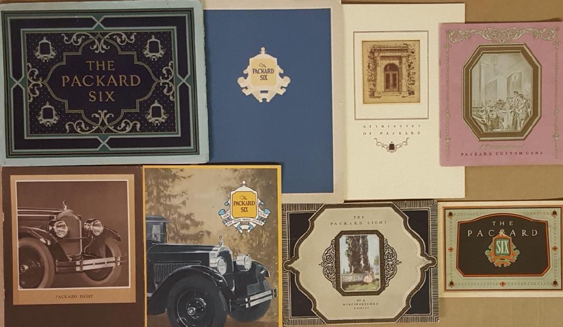 1925-1928 Packard brochures