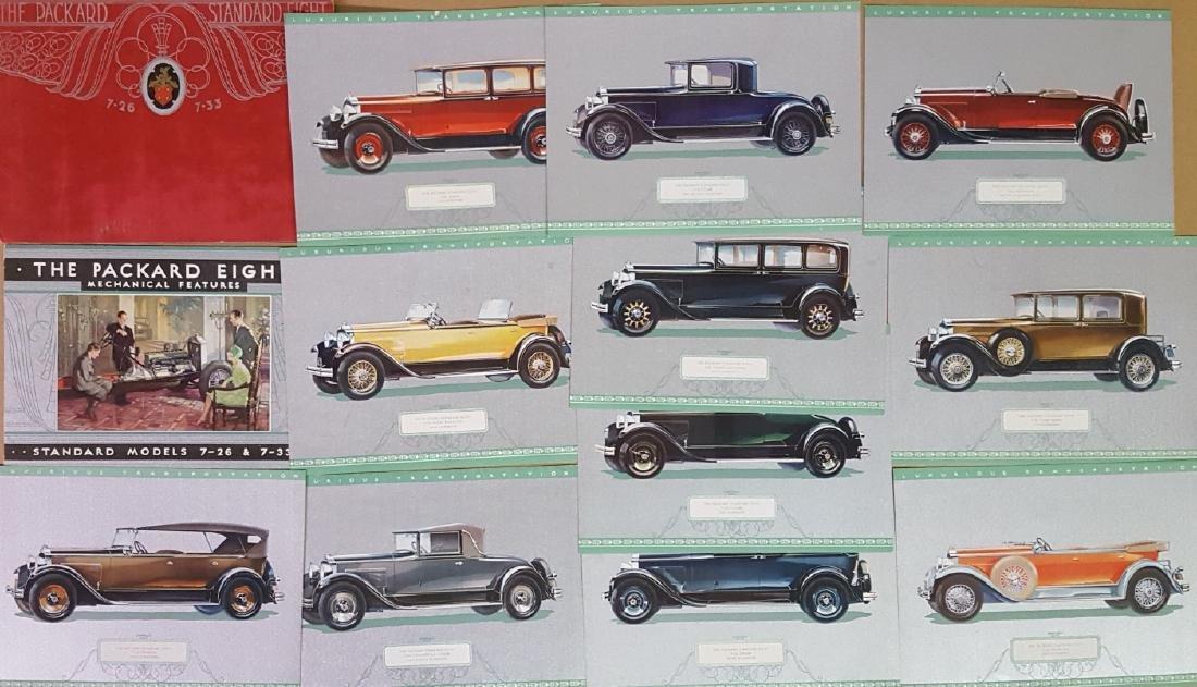 1929-1930 Packard portfolios