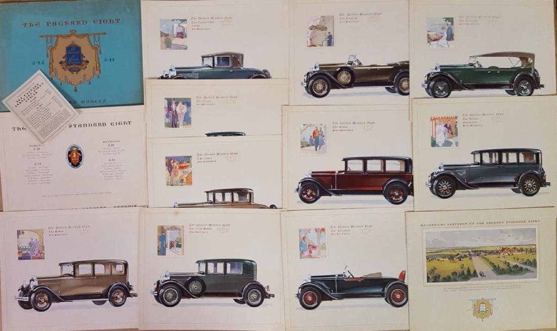 1929-1930 Packard portfolios - 2