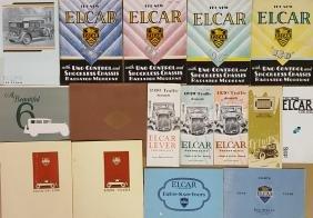Teens-1920's Elcar and Earl brochures
