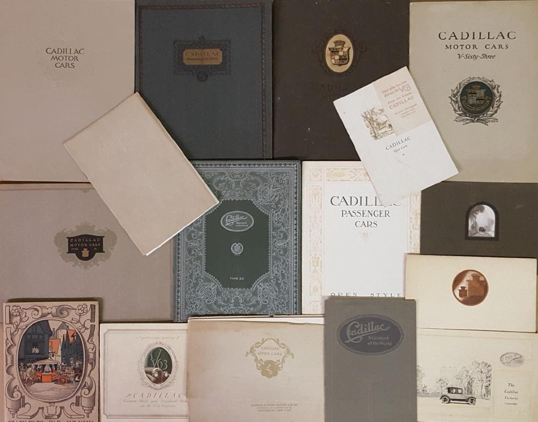 1915-1925 Cadillac items