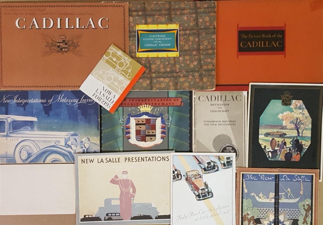 1929-1930 Cadillac, LaSalle brochures