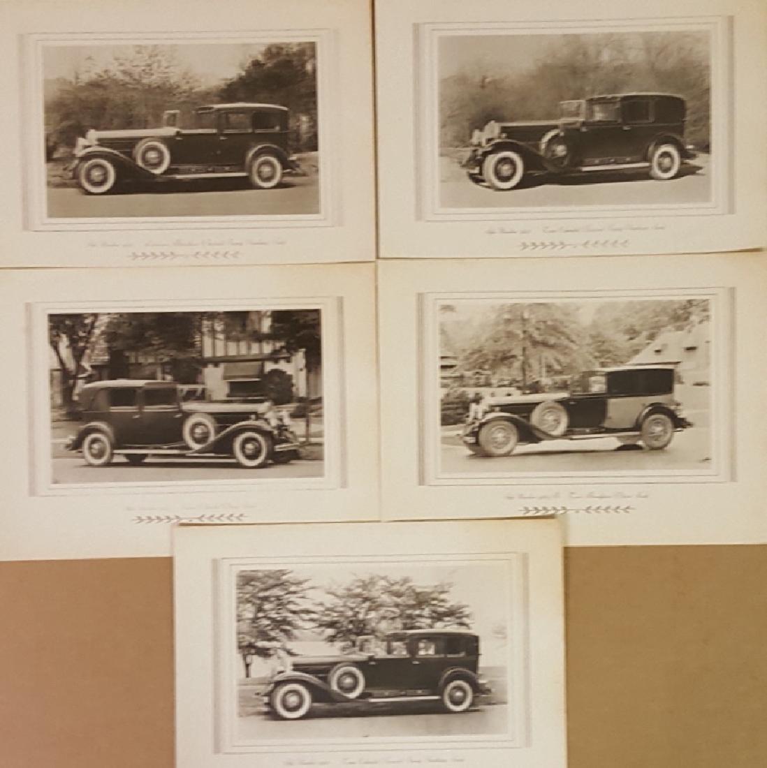 1929-1930 Cadillac, LaSalle brochures - 2