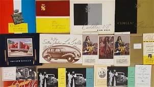 19341935 Cadillac LaSalle items