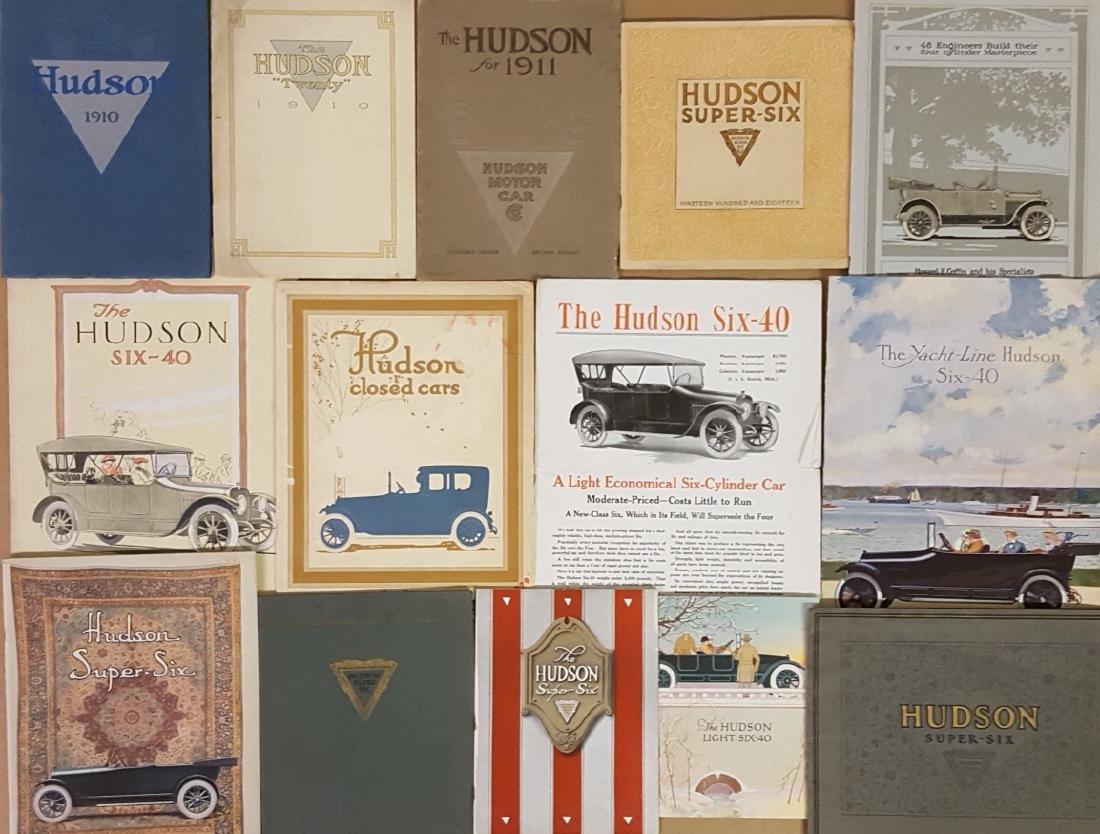 1910-1925 Hudson brochures