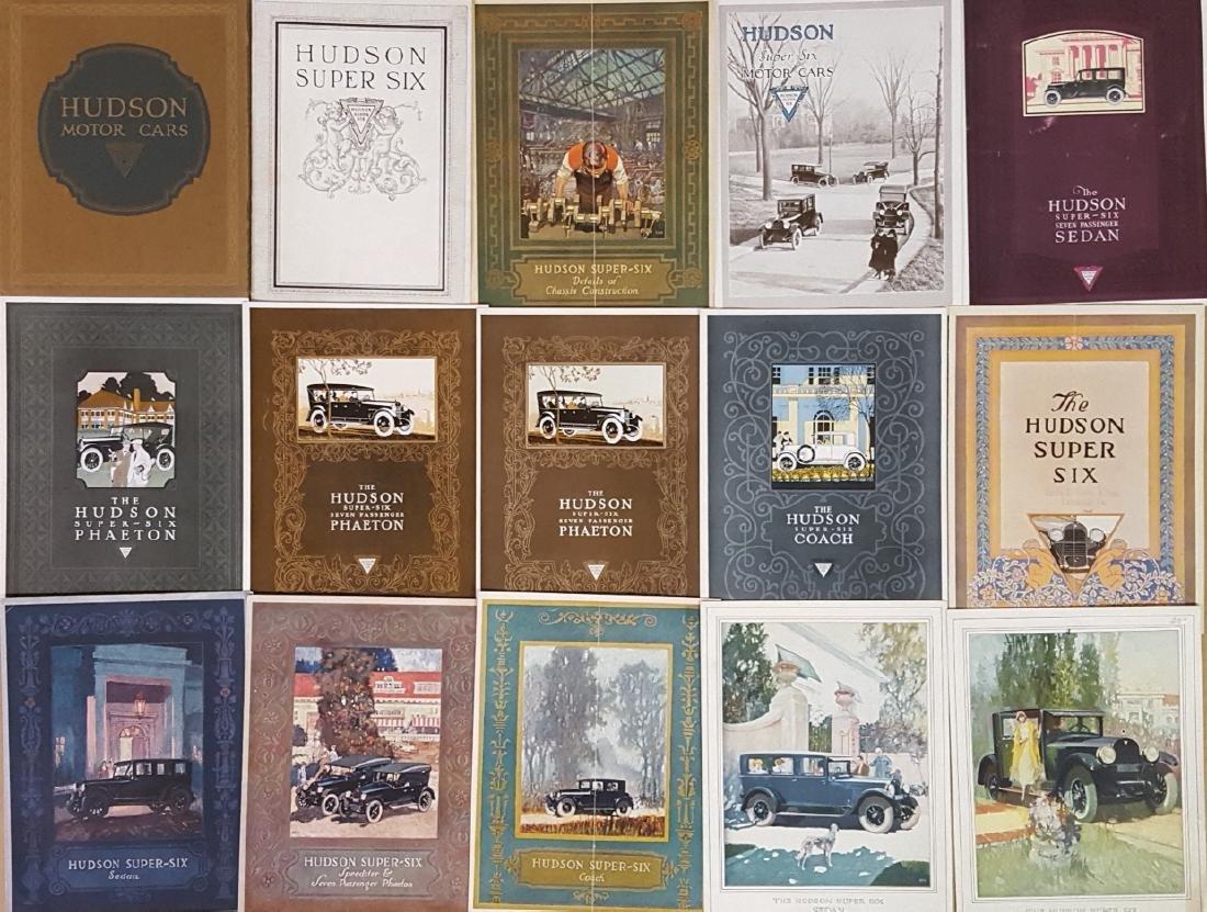 1910-1925 Hudson brochures - 2