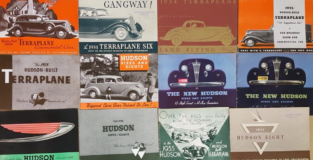 1934-1937 Hudson, 1933-1937 Terraplane brochures