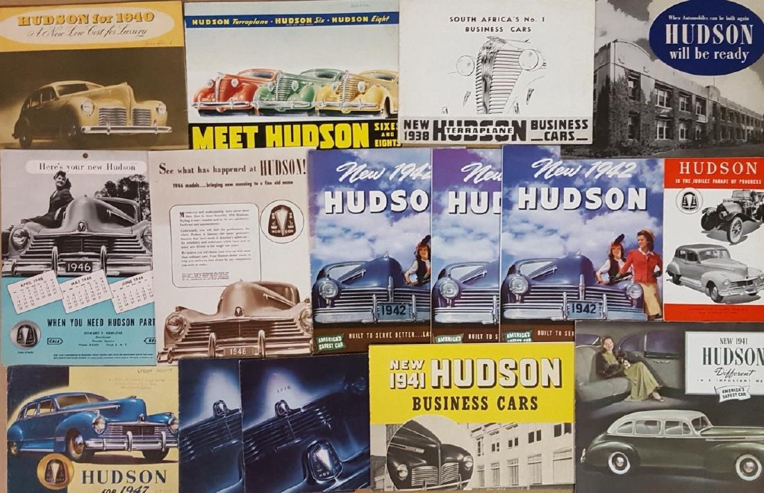 1938-1947 Hudson brochures