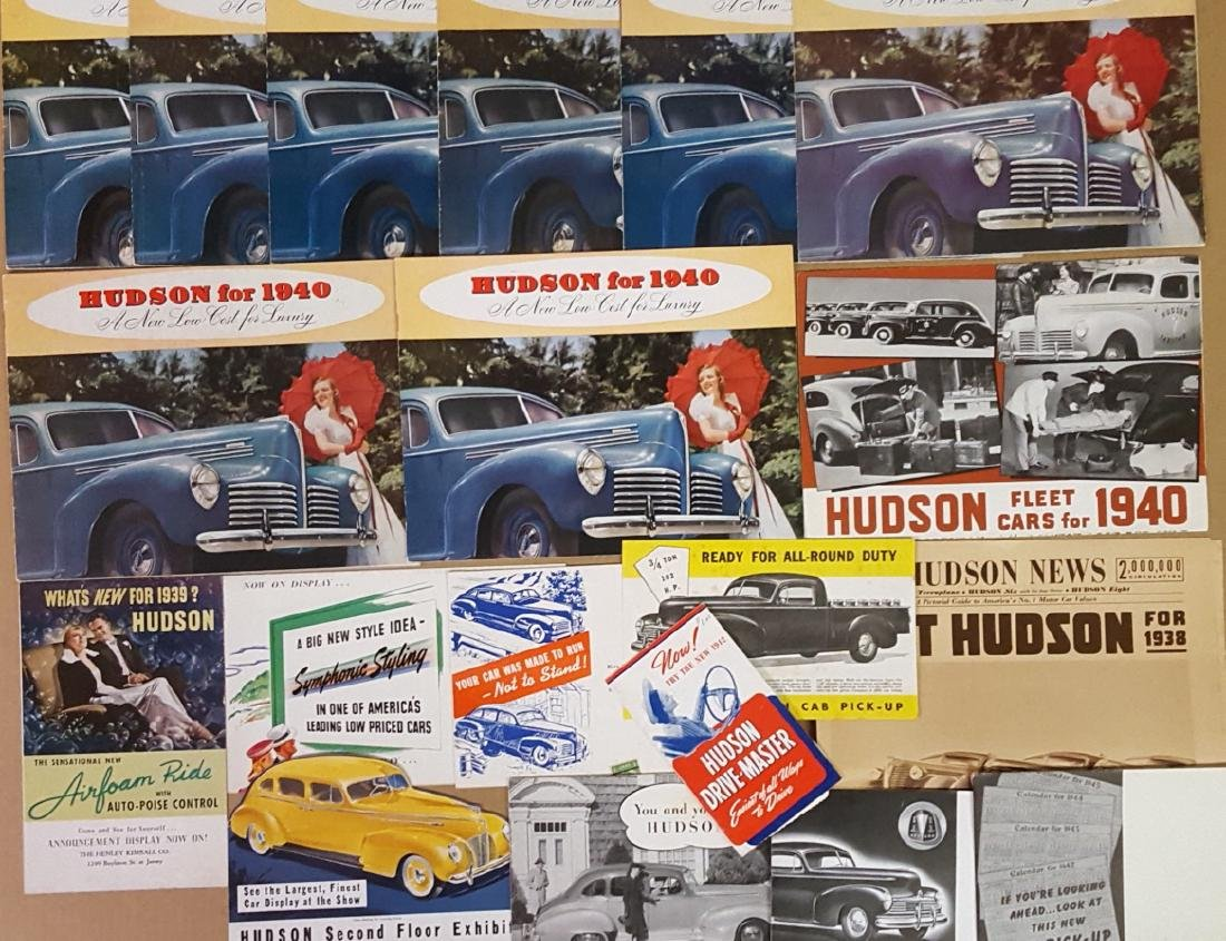 1938-1947 Hudson brochures - 2
