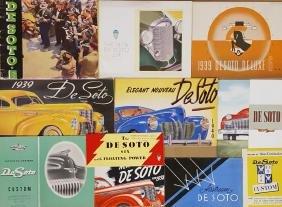 1930-1948 DeSoto export brochures