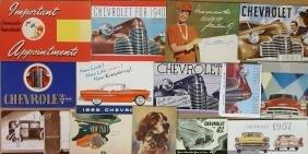 1920's-1957 Chevrolet export market brochures