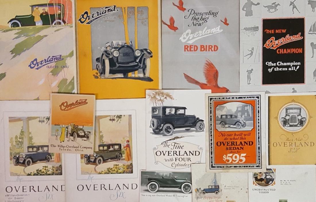1909-1926 Overland brochures - 2