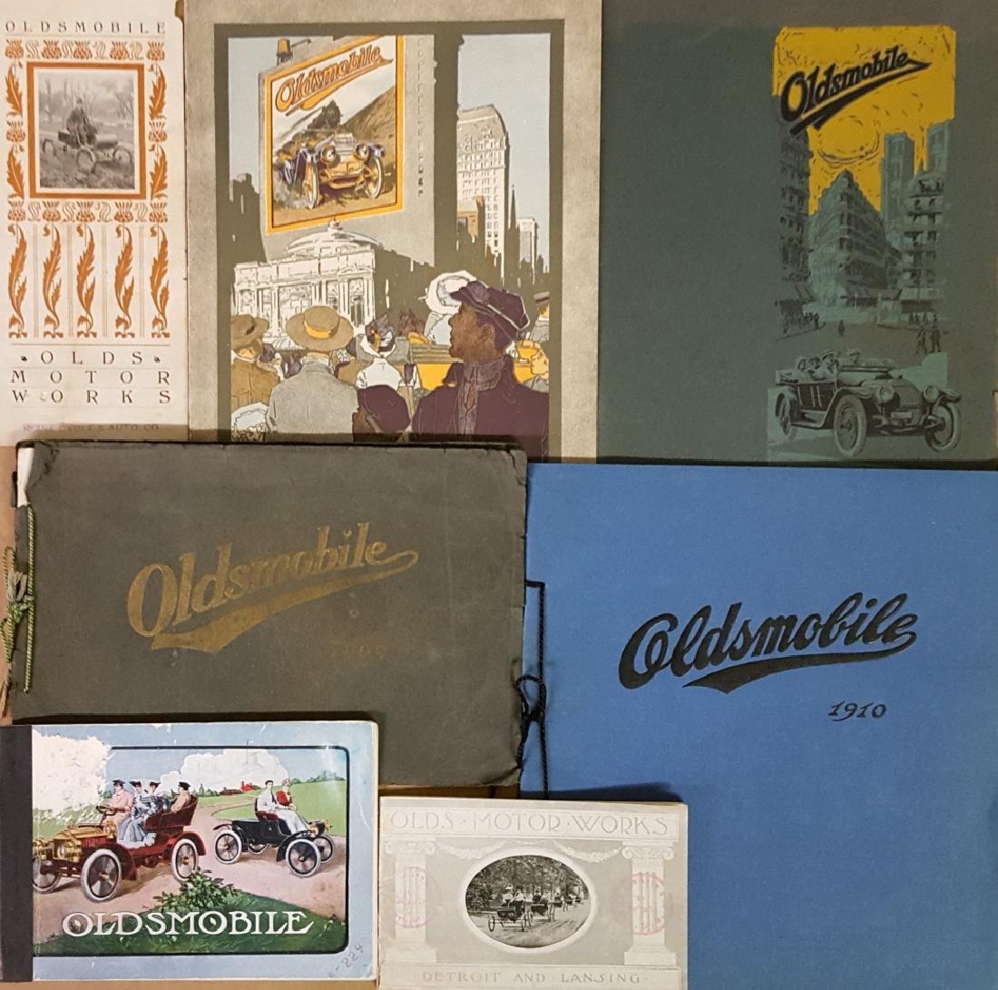 1901-1915 Oldsmobile brochures