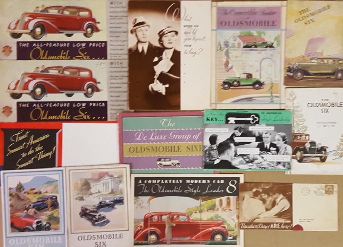 Oldsmobile and Oakland brochures - 2