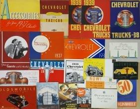 Chevrolet and Oldsmobile brochures