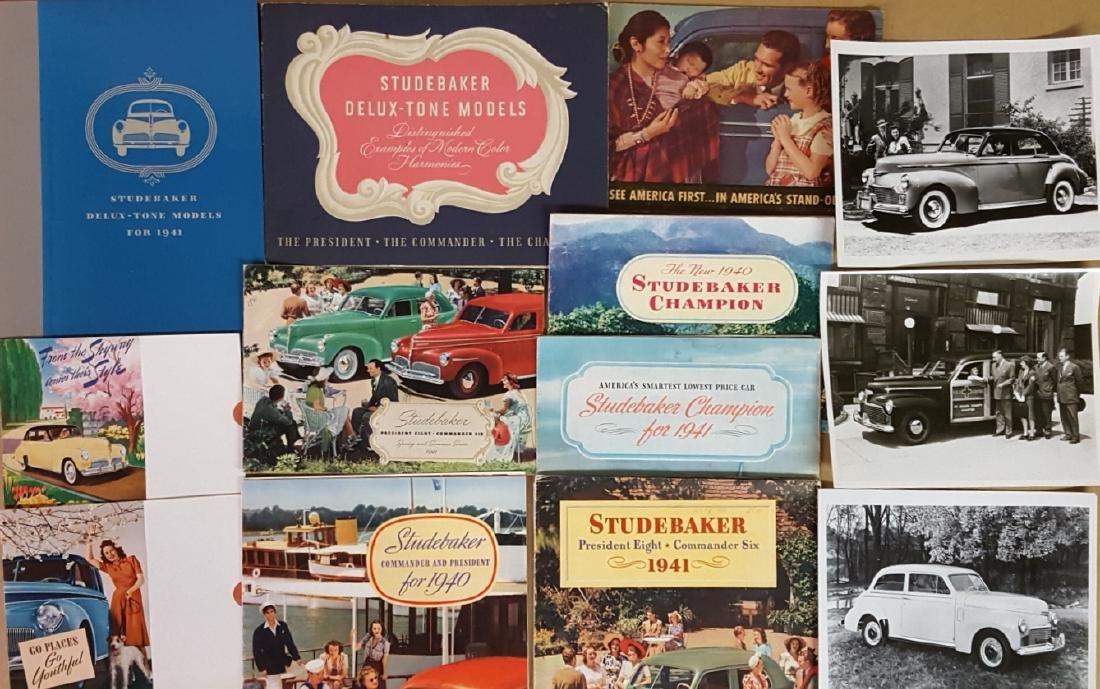 Studebaker, Erskine, Rockne brochures - 2