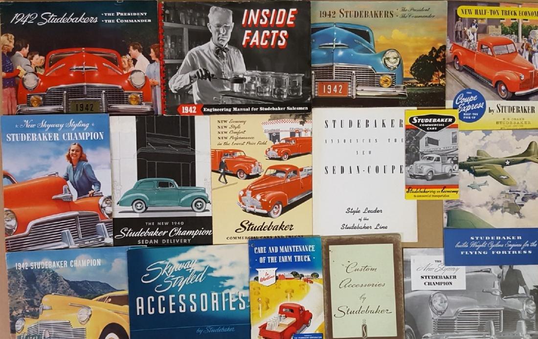 Studebaker, Erskine, Rockne brochures - 3