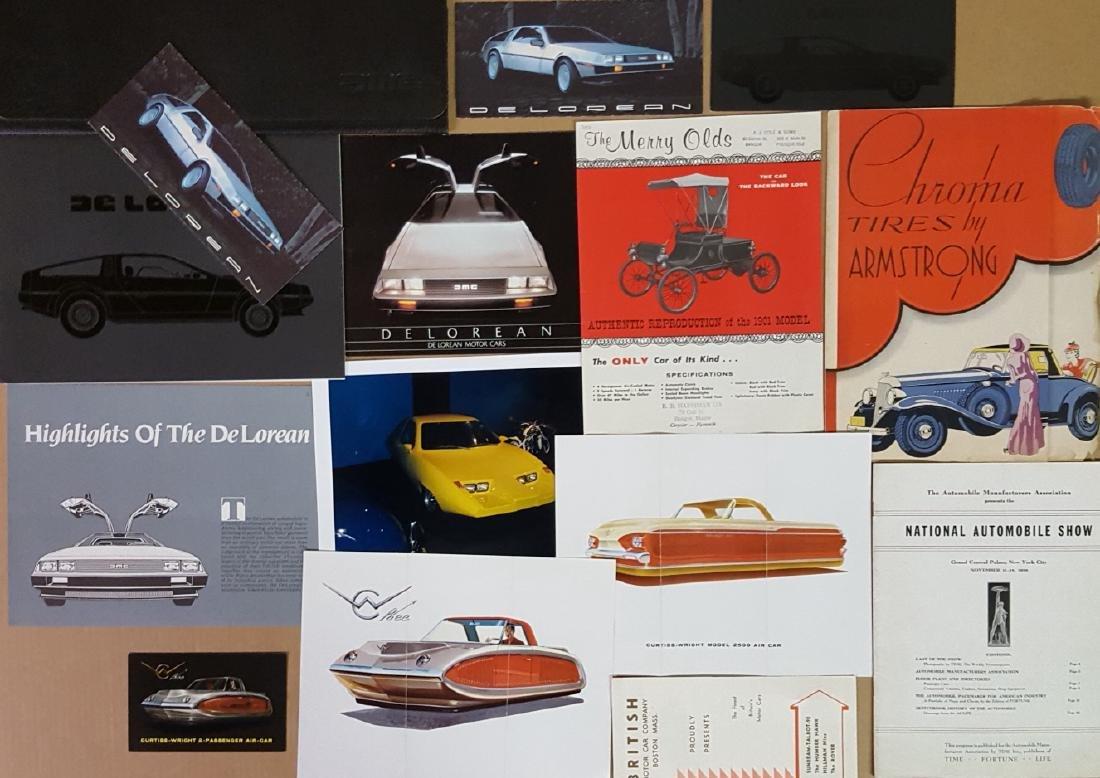 US low production car brochures