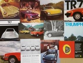 British sports car brochures