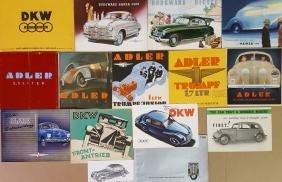 1930's-1940's German brochures