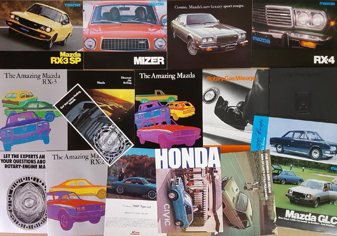 Misc 1960's-1980's Japanese car items