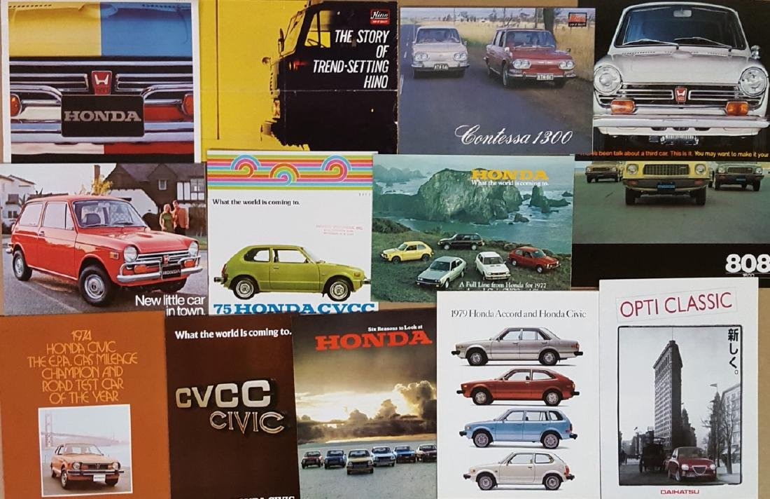 Misc 1960's-1980's Japanese car items - 2
