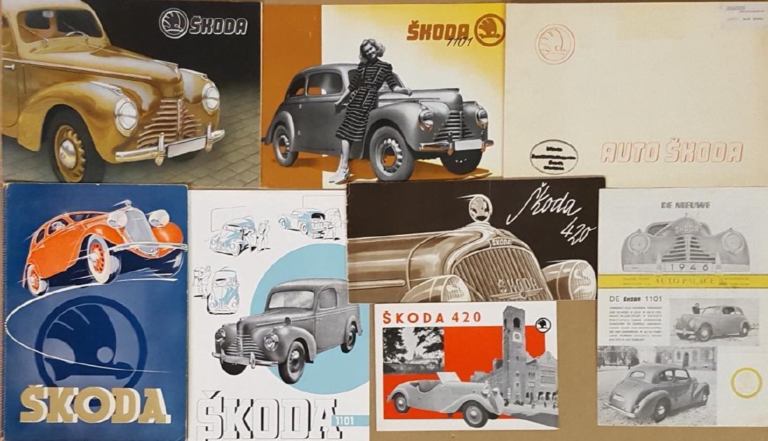 Early 1930's-1948 Skoda items